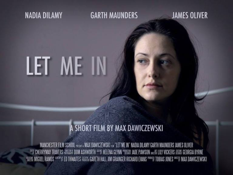 Let me in poster - Photo by Javier Camañas